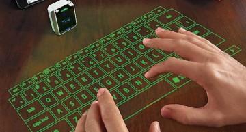 Epic RGOMCQZ virtuelle Laser Tastatur mit integrierter Maus